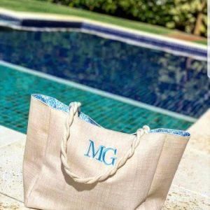 Dai Bag Arabesca Azul