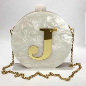 Bag Joia Branca Perolada
