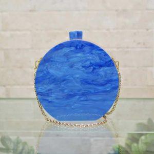Circle Bag Blue Basic