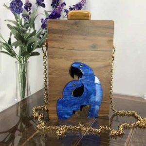 Queen Bag Arara Azul Crua