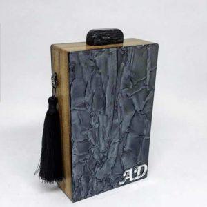 Queen Bag Tradicional Craquelada Black