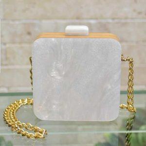 Saquare Bag Blanca