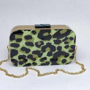 Bag Manhattan Green Animal Print