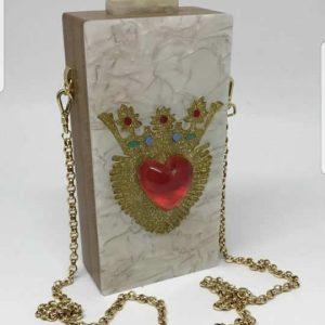 Queen Bag Sagrado Coração 3D