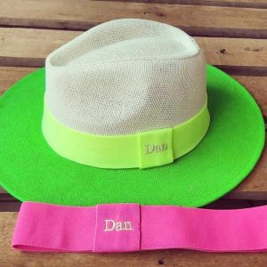Chapéu Panamá Neon Verde